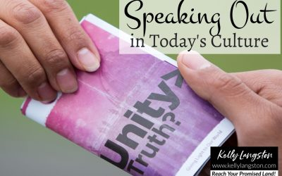 Speaking out in Today's Culture: How to Share God's Love, Light, and Hope to Others